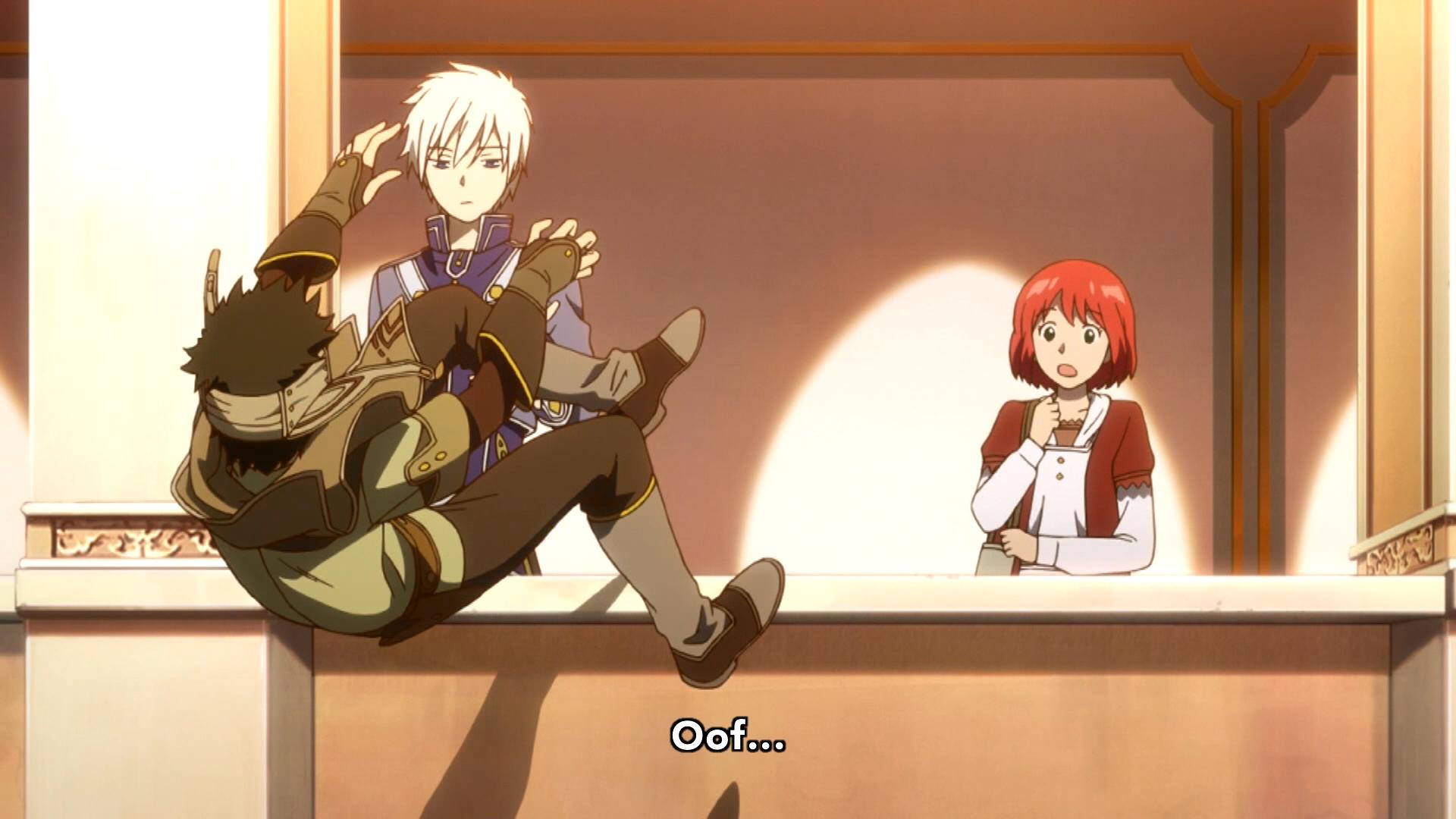 Akagami no Shirayuki-hime - Snow White with the Red Hair ...