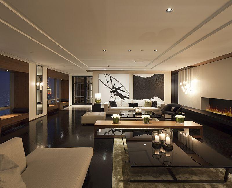 Robarts Interiors and Architecture - Private Residence גבס - diseo de interiores de departamentos