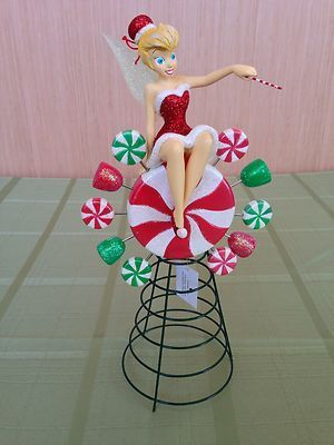 disney christmas tree toppers | Santa Tink Tree Topper TINKERBELL DISNEY  ... | Collectibles for Sale! - Disney Christmas Tree Toppers Santa Tink Tree Topper TINKERBELL
