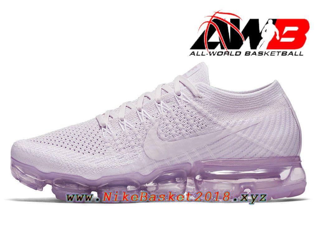 new products a6469 3a85d Chaussures de Prix Pas Cher Pour Femme Nike Wmns Air VaporMax GS Light  Violet 849557-