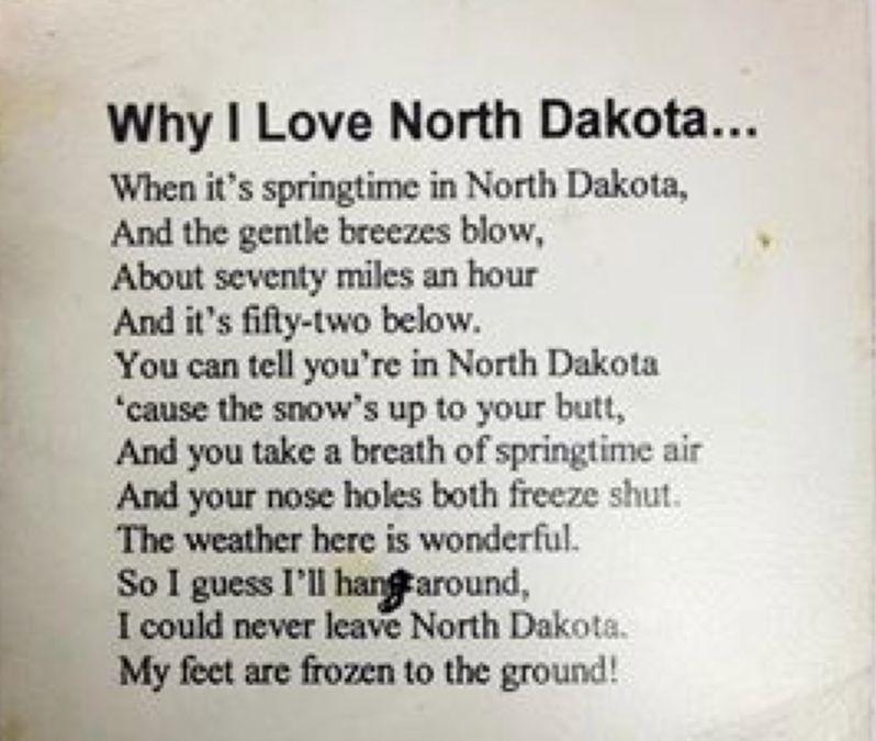 Why I Love North Dakota North dakota, South dakota, Wahpeton