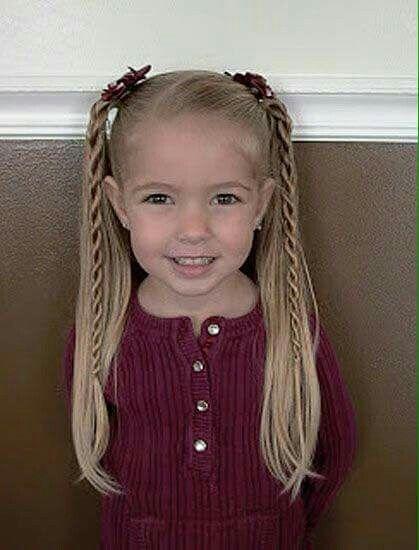 Peinados para niña | Brooke\'s Hair in 2018 | Pinterest | Hair styles ...