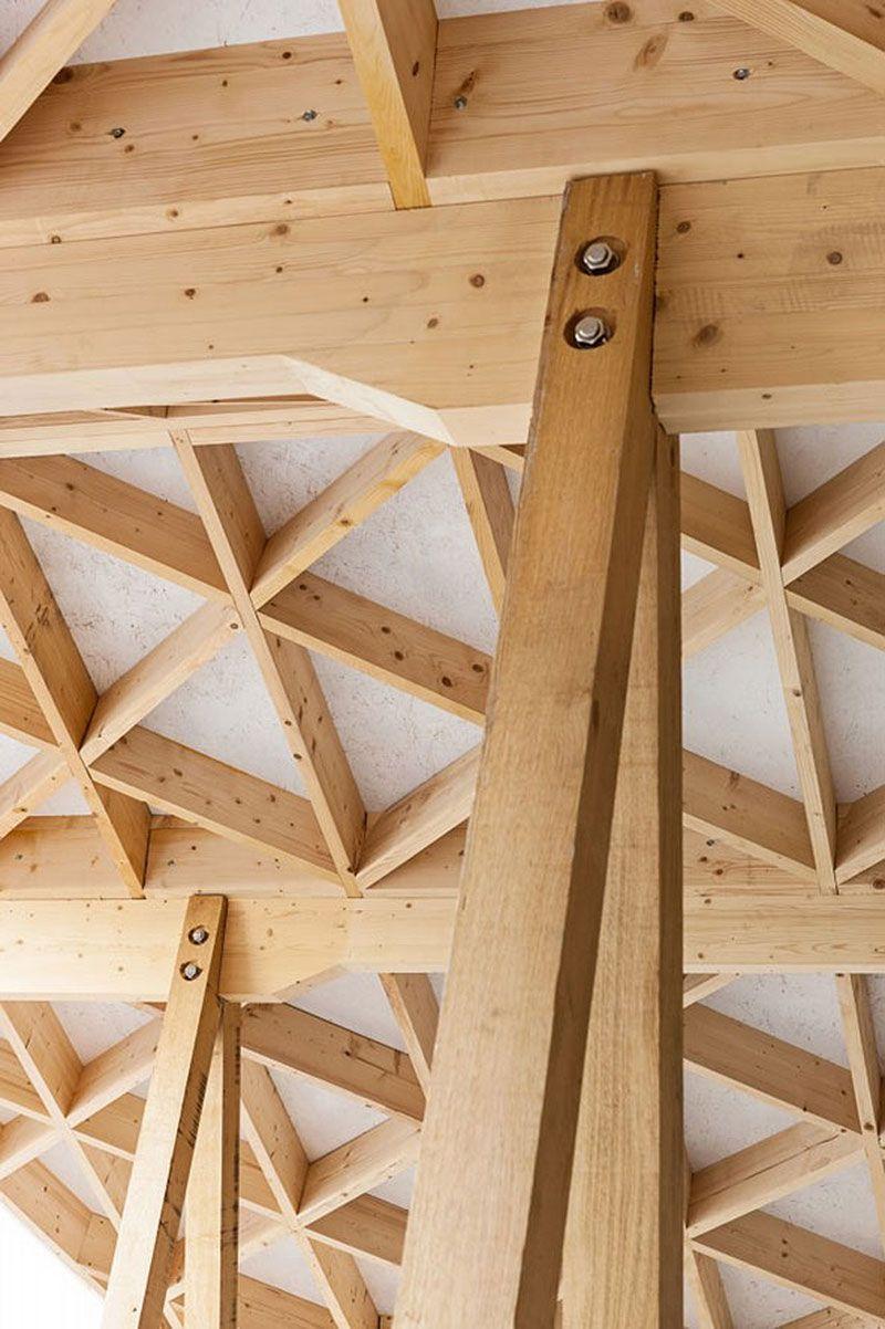 estructura de madera … | Pinteres…