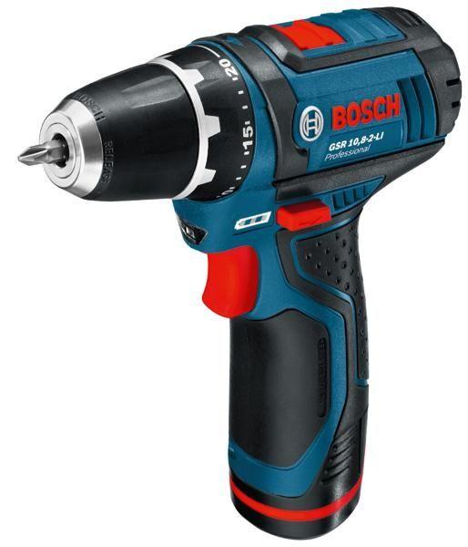 899 Kr  Bosch GSR 10.8 2-LI  KIT Bore/ skrue-maskine 2x 2.0Ah KIT