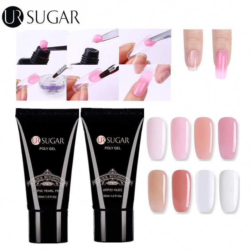 nail tips acrylic Clear nailtipstutorial Gel nail