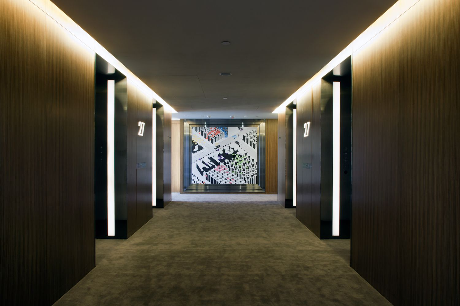 the exquisite hotel icon, hong kong | hotel corridor, industrial