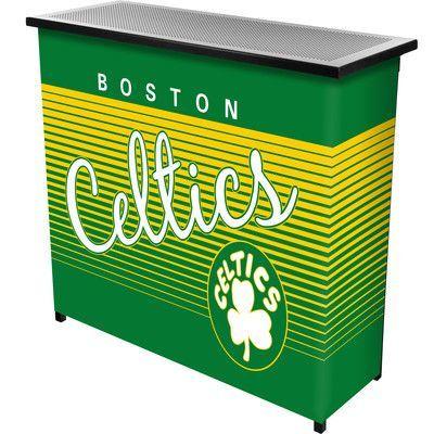 Trademark Global Hardwood Classics Home Bar Team: Boston Celtics