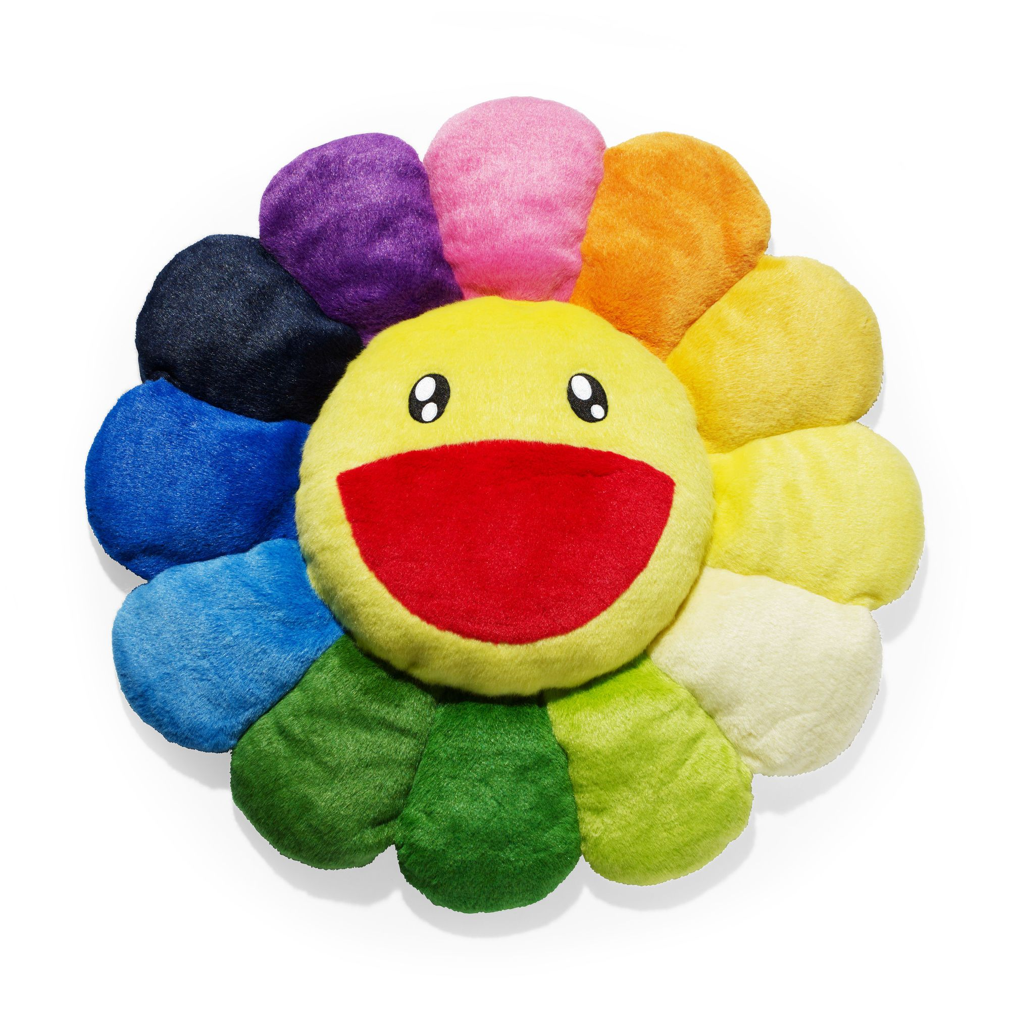 Plush Murakami Flower Cushion in color Murakami flower