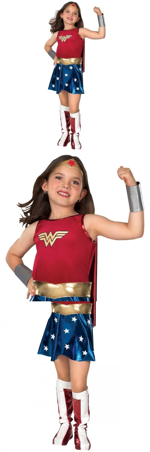 Girls 80914 Wonder Woman Costume Kids Halloween Fancy Dress -u003e BUY IT NOW ONLY  sc 1 st  Pinterest & Girls 80914: Wonder Woman Costume Kids Halloween Fancy Dress -u003e BUY ...
