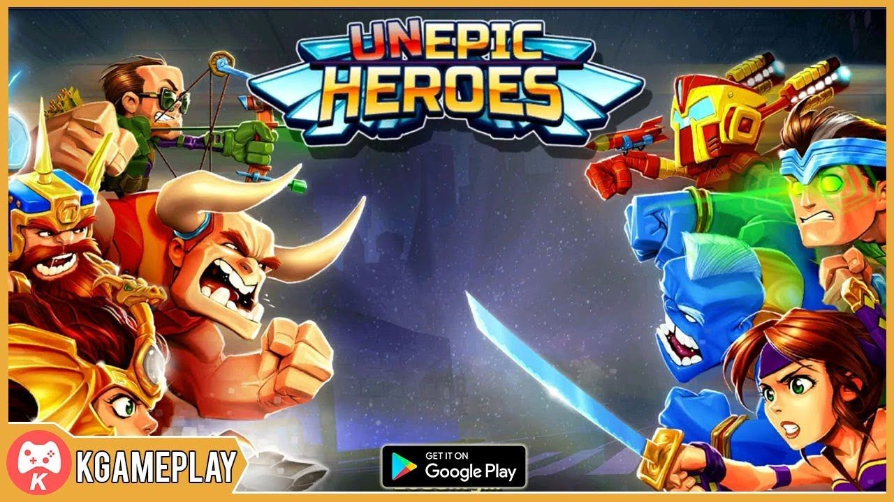 UnEpic Heroes Battle for the Universe Gameplay iOS Android