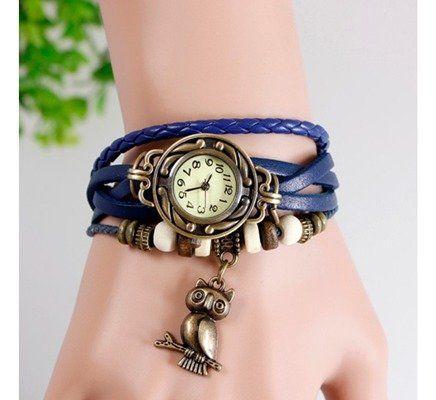Relógio Pingente Coruja