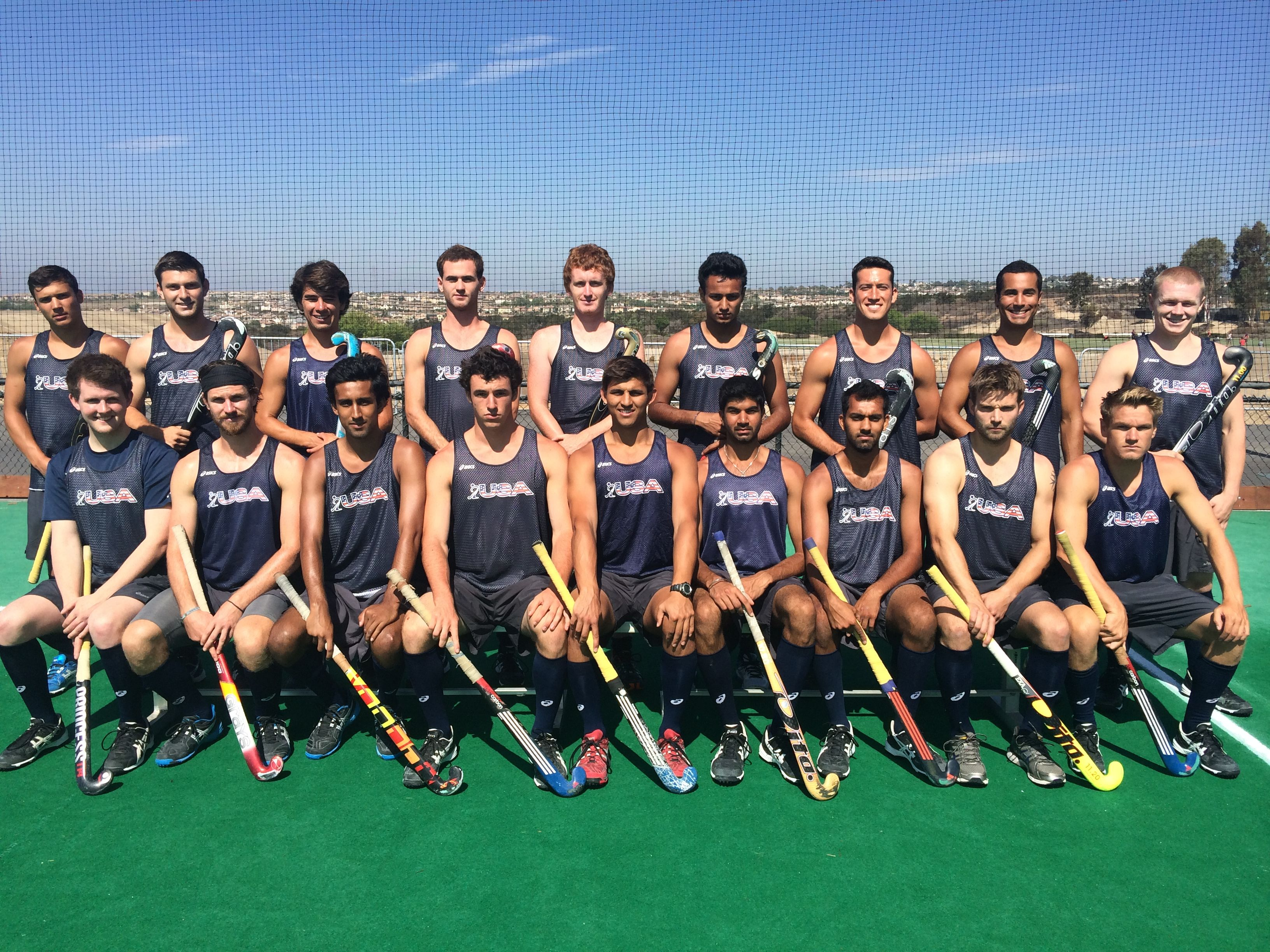 Clements Announces 2014 14 U S Men S National Team Field Hockey Men Hockey