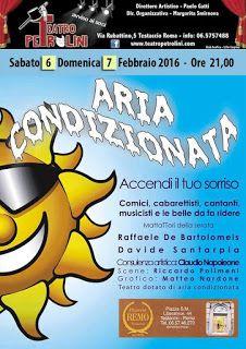 TG Musical e Teatro in Italia: ARIA CONDIZIONATA - Spettacolo di cabaret al Teatr...