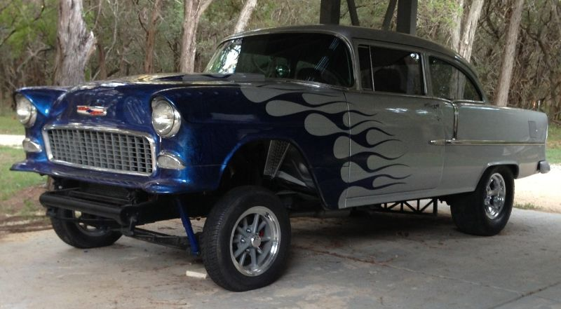 1955 Chevy Belair Gasser For Sale Hot Rods Cars Muscle Chevy