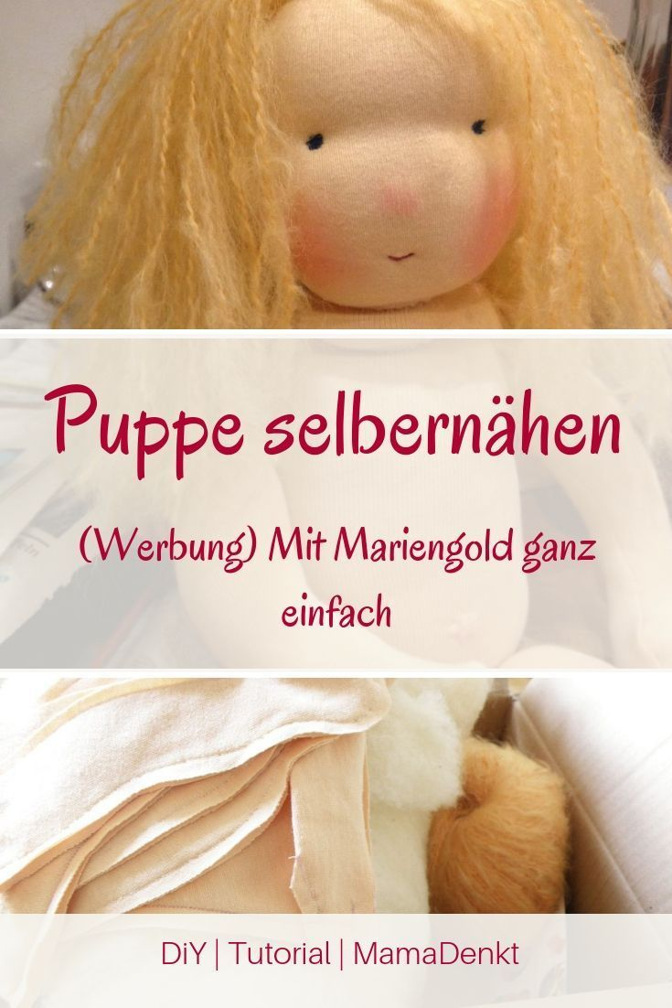 Mariengold. Eine Puppe selber machen. | MamaDenkt.de