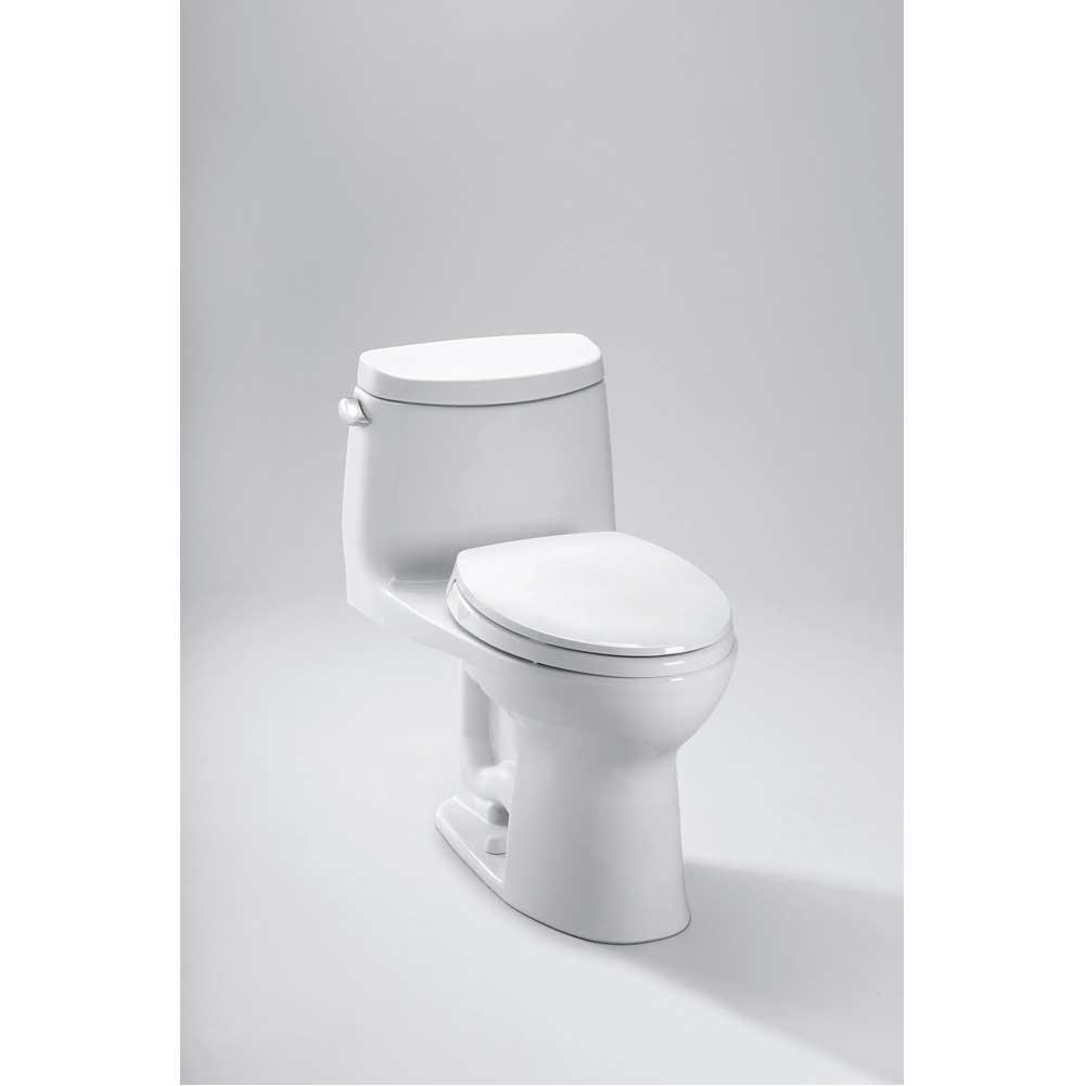 Toto MS604114CEFG#01 Ultramax II 4.8L One-Piece Elongated ADA Toilet ...