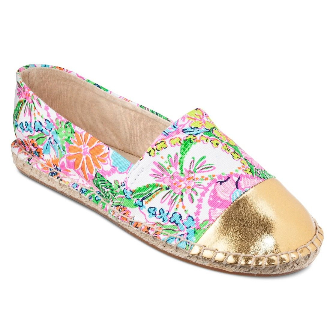 Lilly Pulitzer for Target Girls' Espadrilles - Nosie Posey