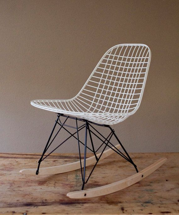 Eames Vintage Wire Rocker Chair