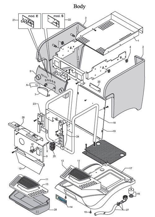 Rancilio Epoca 1 Group Parts Diagram Rancilio Epoca Diagram Coffee Machine