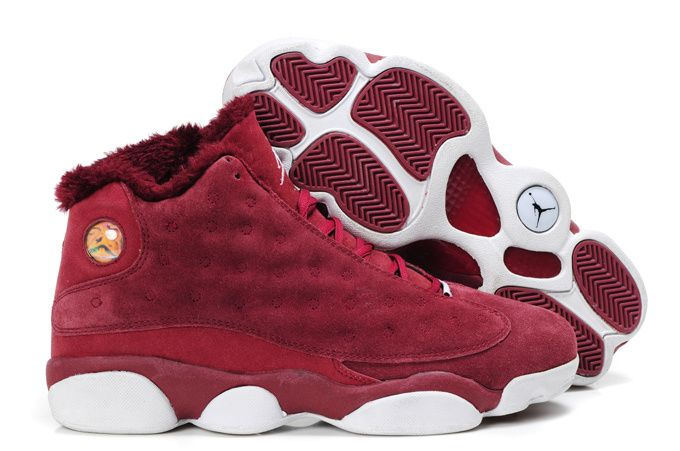 burgundy jordans shoes for men