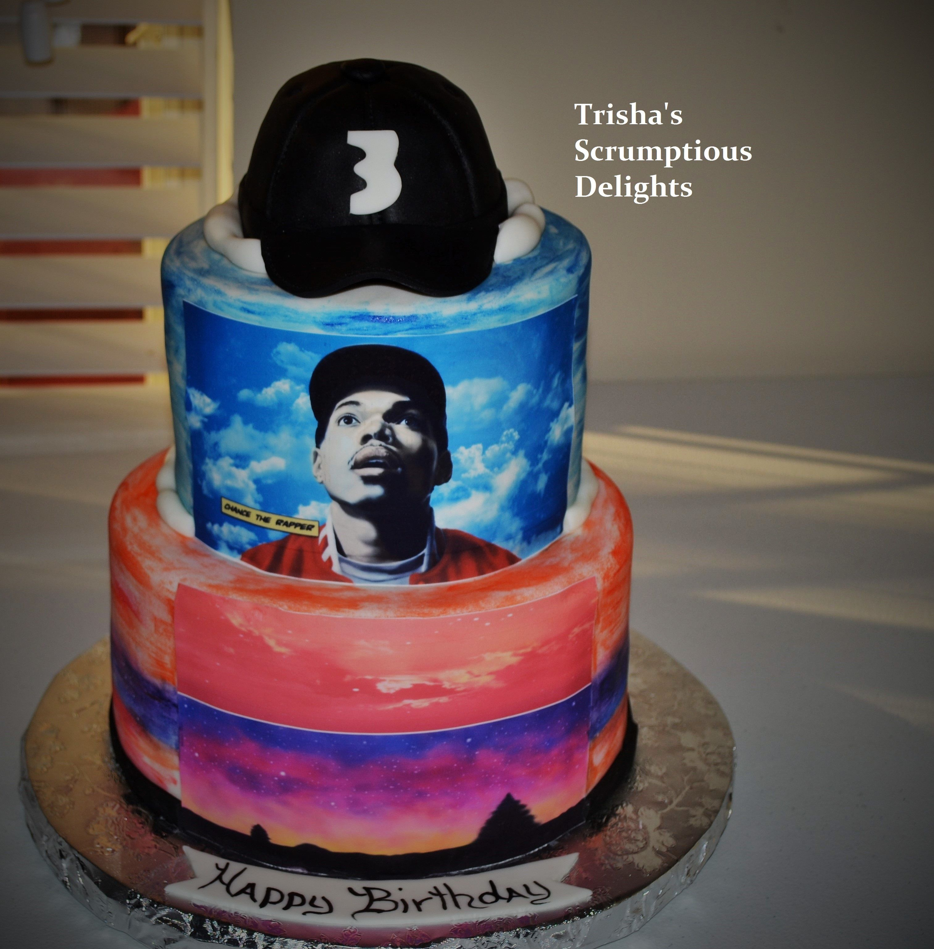 Music Cakes, Chance The Rapper, Rapper