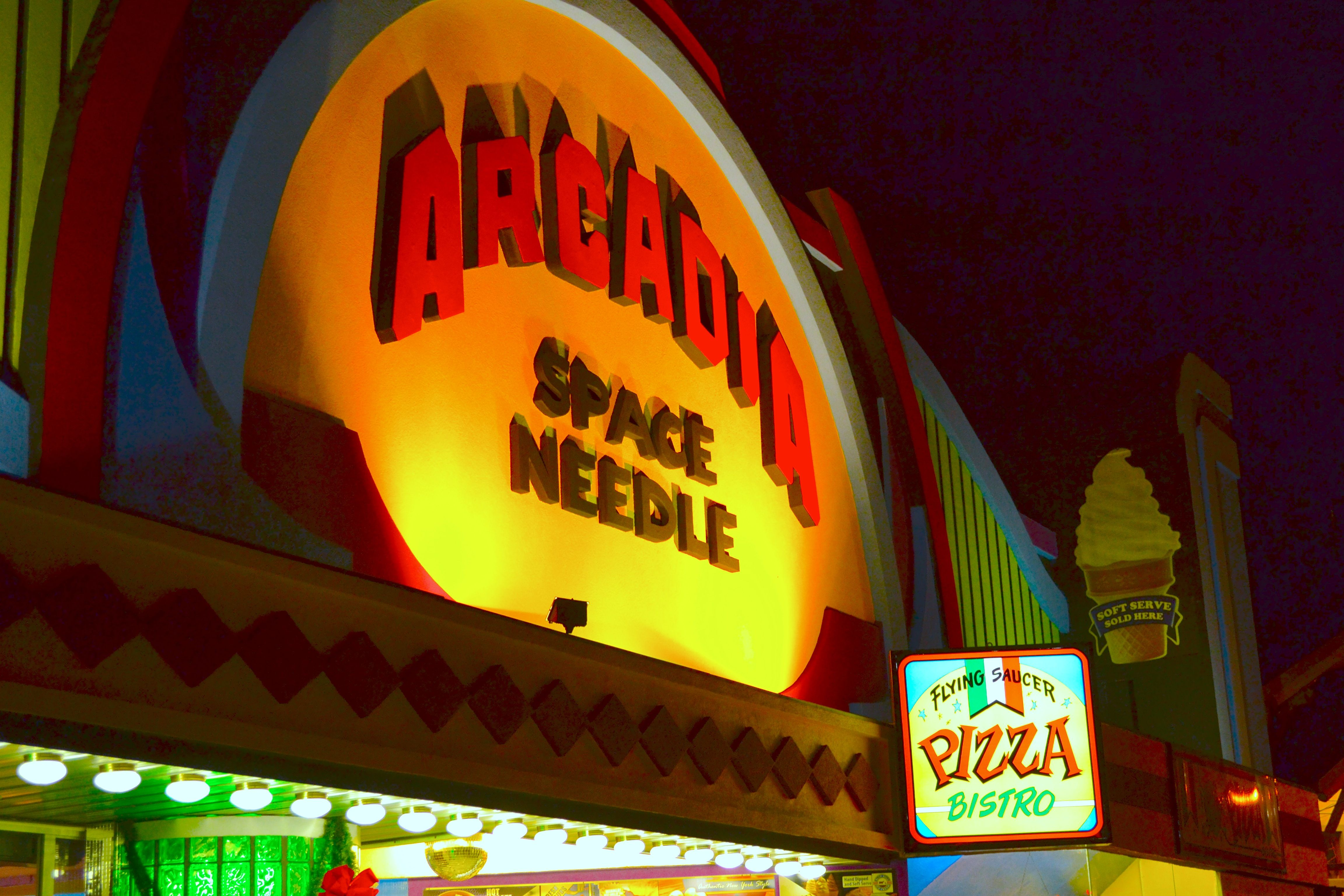 Arcadia Gatlinburg Arcade Near The Space Needle Is Fun For Anyone Wanting To Have A Good Time Smoky Mountains Attractions Gatlinburg Space Needle Ripley Aquarium