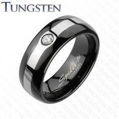 mens wedding rings pokemon - black premier ball, very subtle