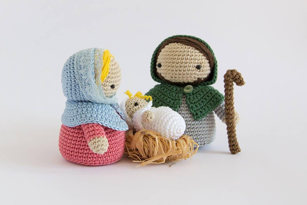 Krippenfiguren Häkeln Crochet Pinterest Navidad Pesebre Und