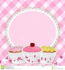 Imagen Relacionada Fondos Para Tarjetas Dibujos De Cupcakes Tarjetas Imprimibles