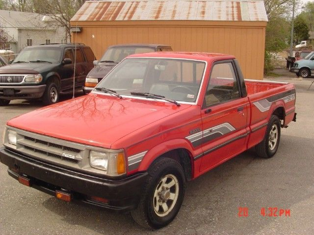 1986 mazda b2000 pickup drove for a couple of months absolutely