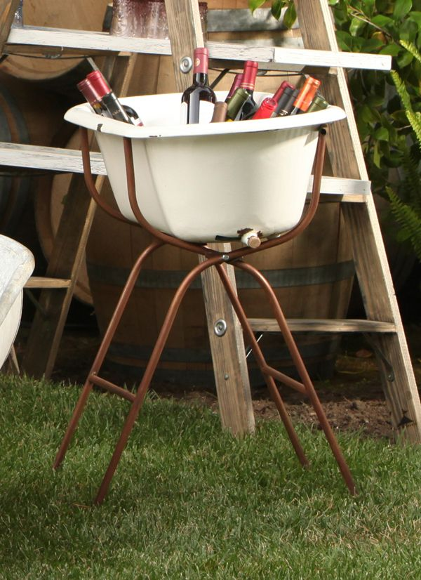 Vintage Baby Bath Tub with Floor Stand | Town & Country Event ...