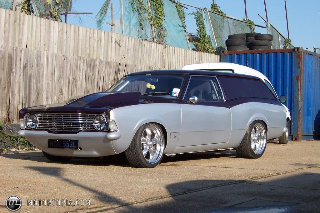 Ford Cortina Wagon Car Ford Custom Cars Paint Australian Cars