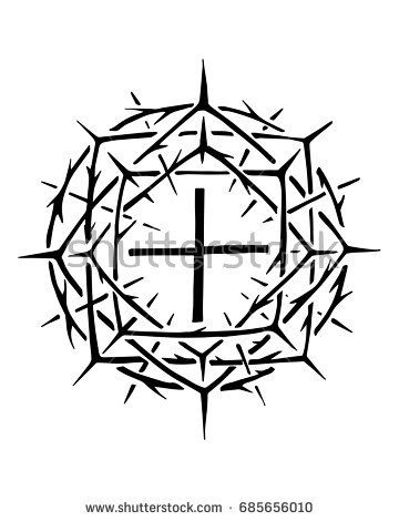 Hand Drawn Vector Illustration Or Ink Drawing Of The Christian