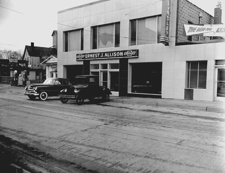 Early Chevrolet Dealership Photos Google Search Chevrolet