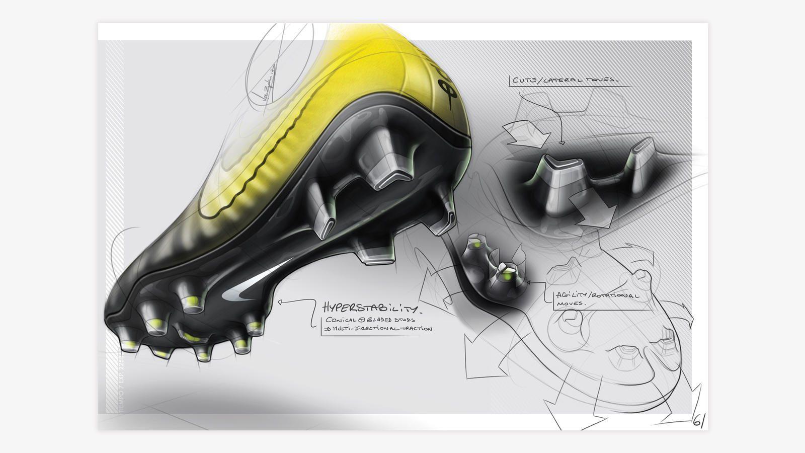Making the Exceptional Look Easy | footwear sketch