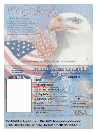 Us Passport Photo Template Buy Registered Real Fake Passports Legally Real And Fake Driver Licens Passport Template Passport Card Birth Certificate Template