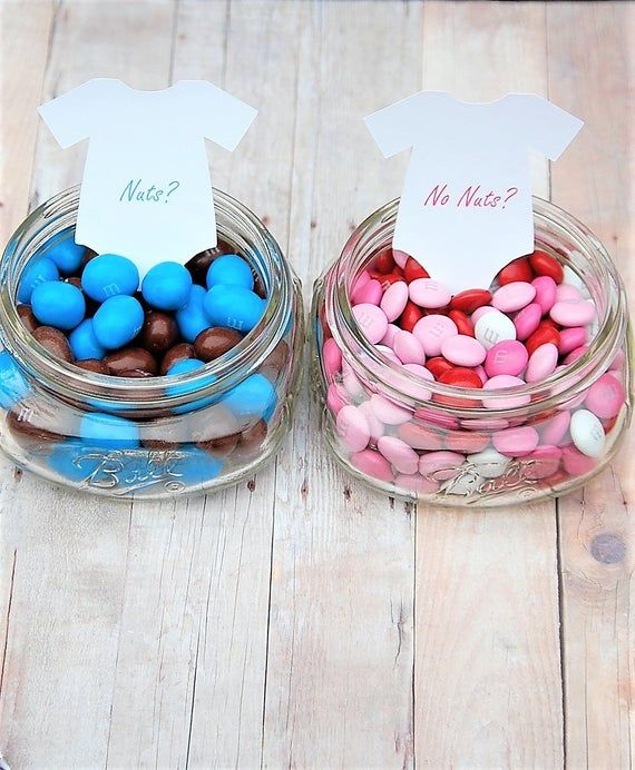 Nuts? or No Nuts? (TAGS ONLY) Gender Reveal Party ~ Boy? or Girl? ~ 2 tags ~ 3 1/2