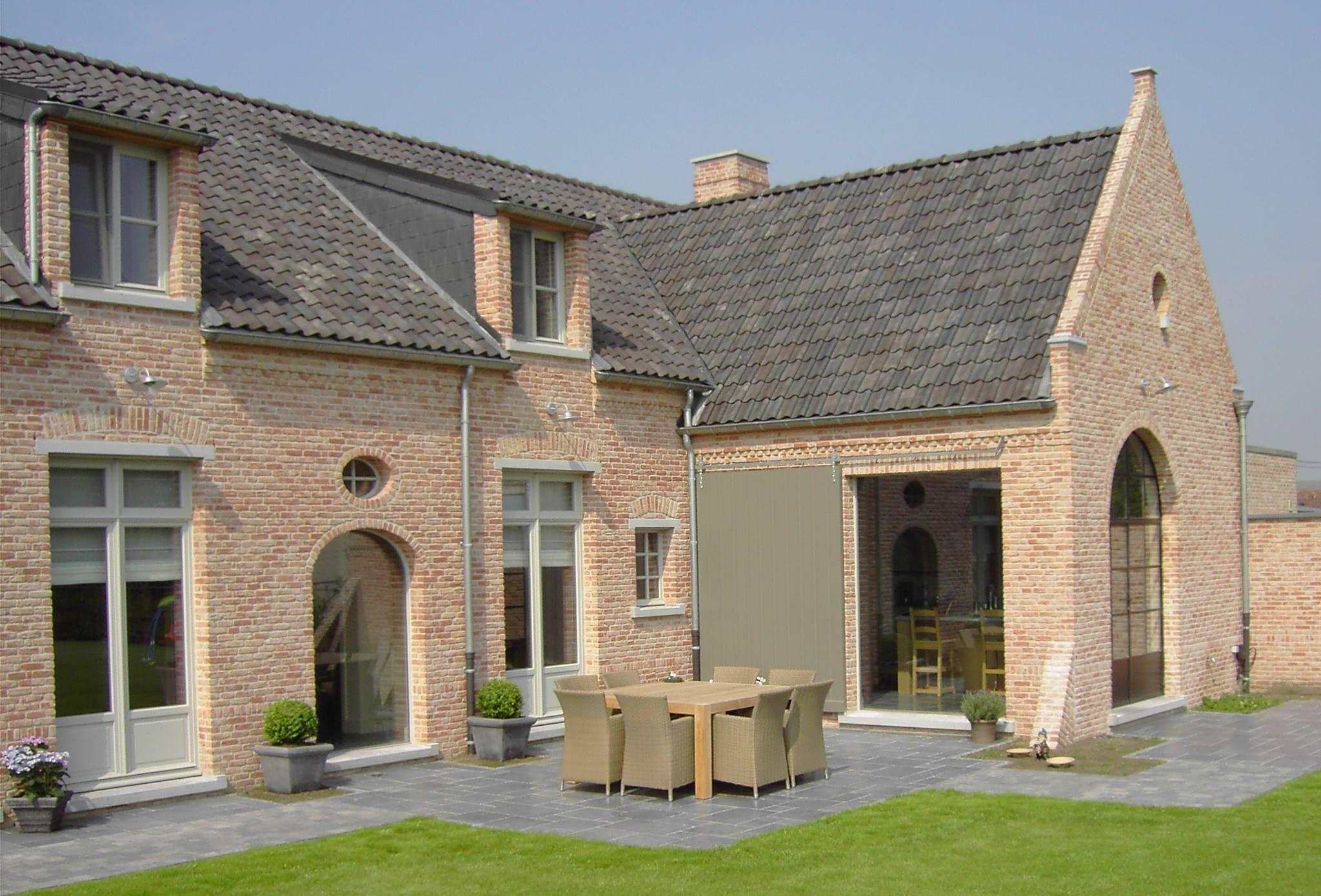 Fen tre type de brique plan de maison woonboerderij for Constructeur maison belge