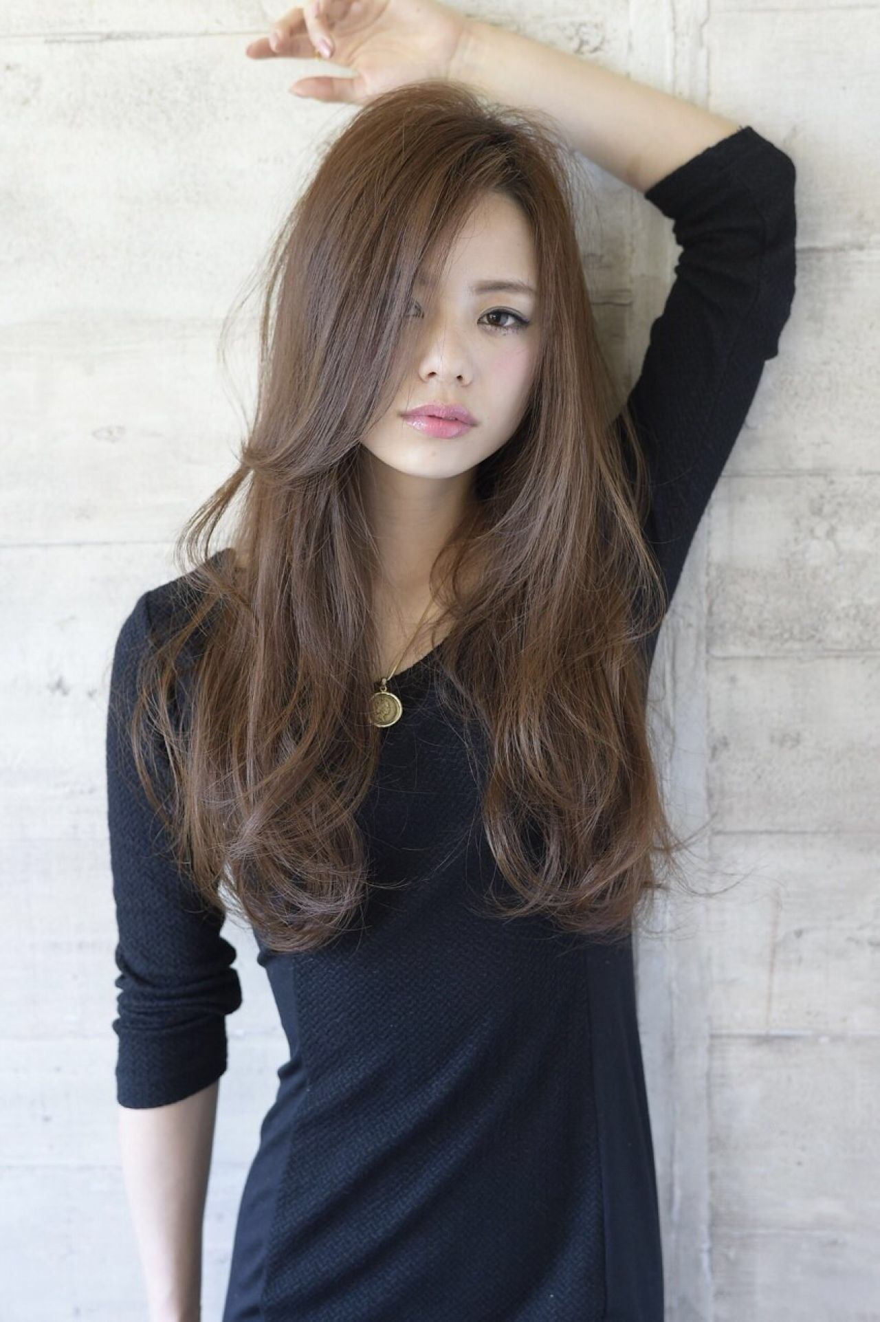 Long hair   Haircuts for long hair with layers, Japanese ...