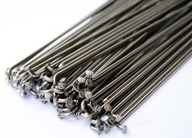 Stainless Steel Bicycle Spokes 14 Gauge 2 0mm 195mm 75 Ct Bicycle Spokes Bmx Bicycle Bicycle