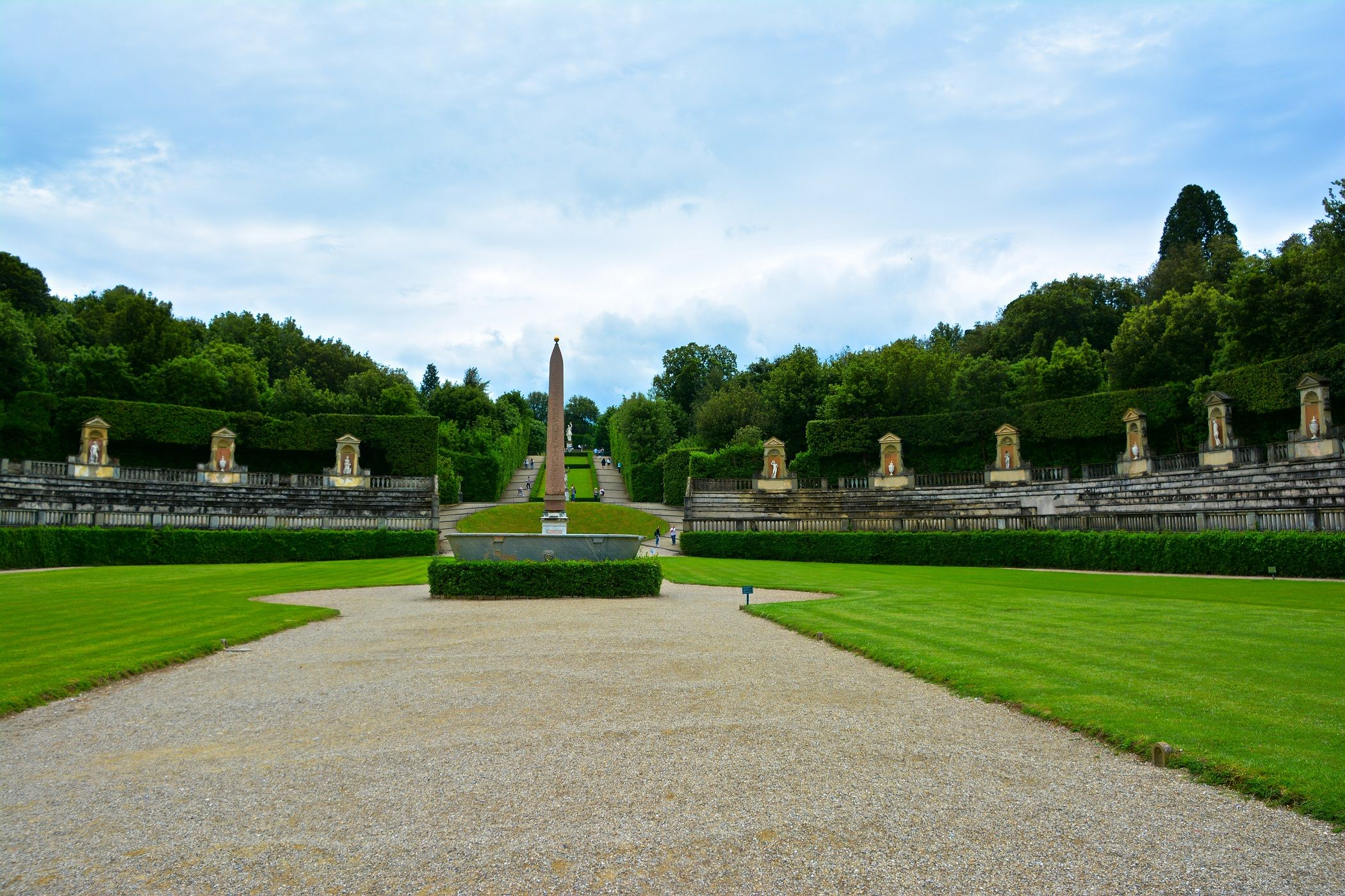 Florence Italy The Boboli Gardens Is A Park In Florence Italy That Is Home To A Collection Of Sculptures Dating From The 16 Italian Garden Florence Tuscany