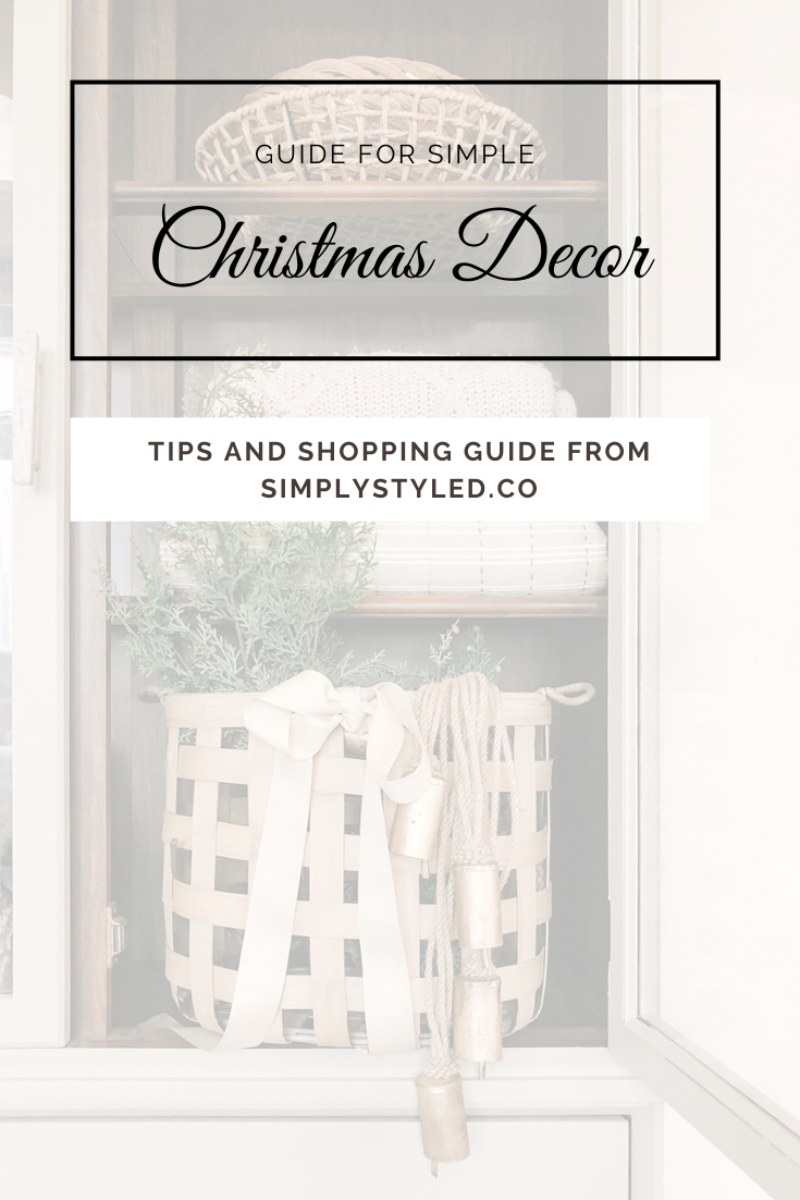 Tips and Shopping guide of easy, simple christmas home decor. Get your home ready! #hygge #christmasfeels #christmasdecor #cozychristmas