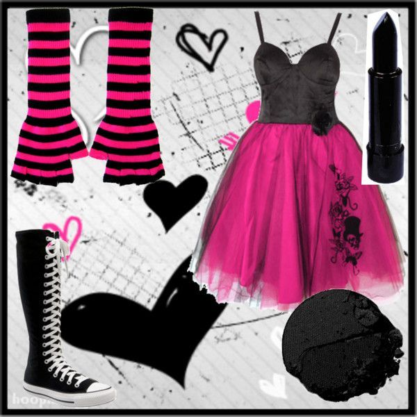 """""""EMO PROM GOWN FOR A CHIC"""" by candira12 on Polyvore #emodresses"""
