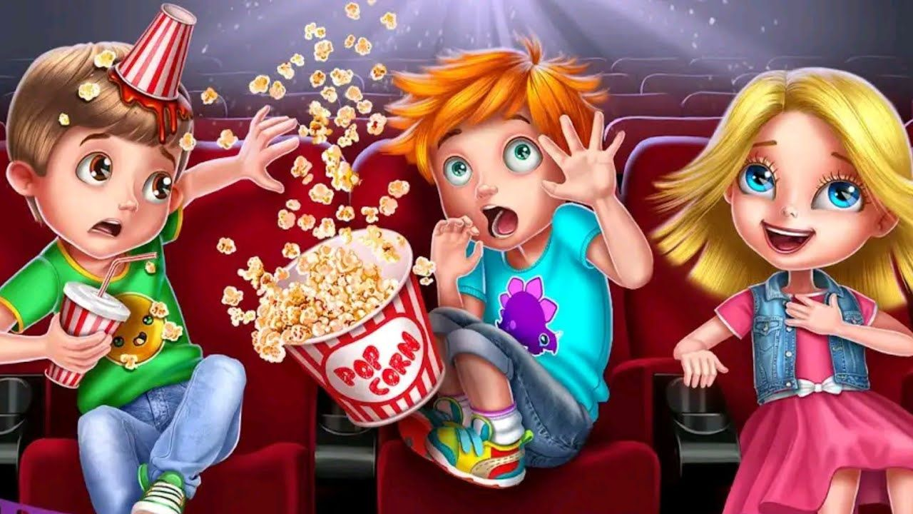 Kids movie night android gameplay tabtale movie apps