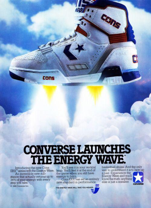 Old School Cool Cons Ad | Michael Jordan | Converse