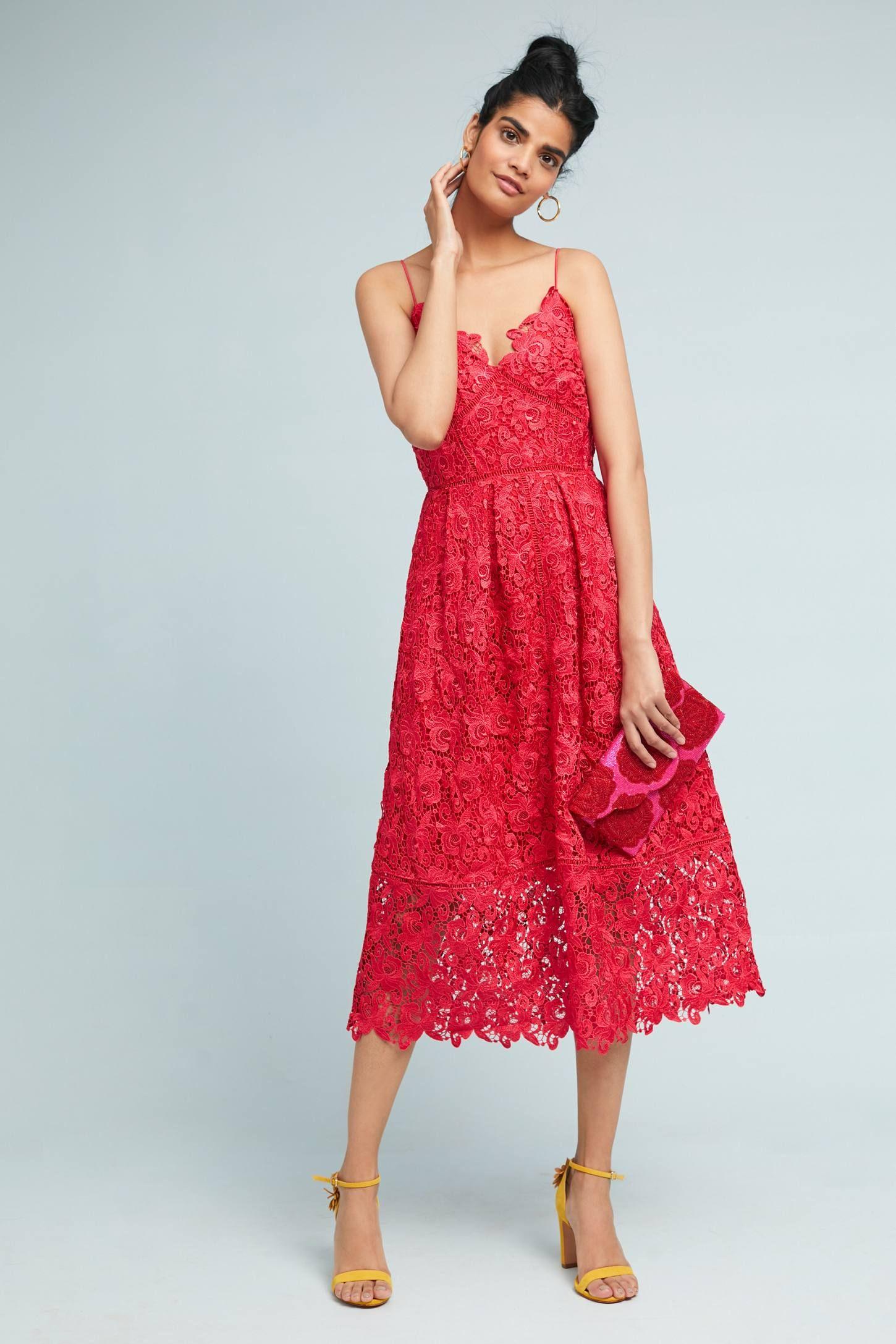ac1a84430b3 Sherbert Lace Midi Dress