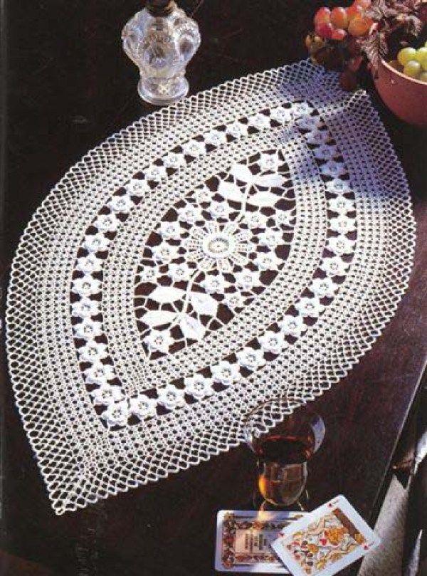 8 Beautiful Crochet Doily Patterns   Doilies   Pinterest   Patrón de ...