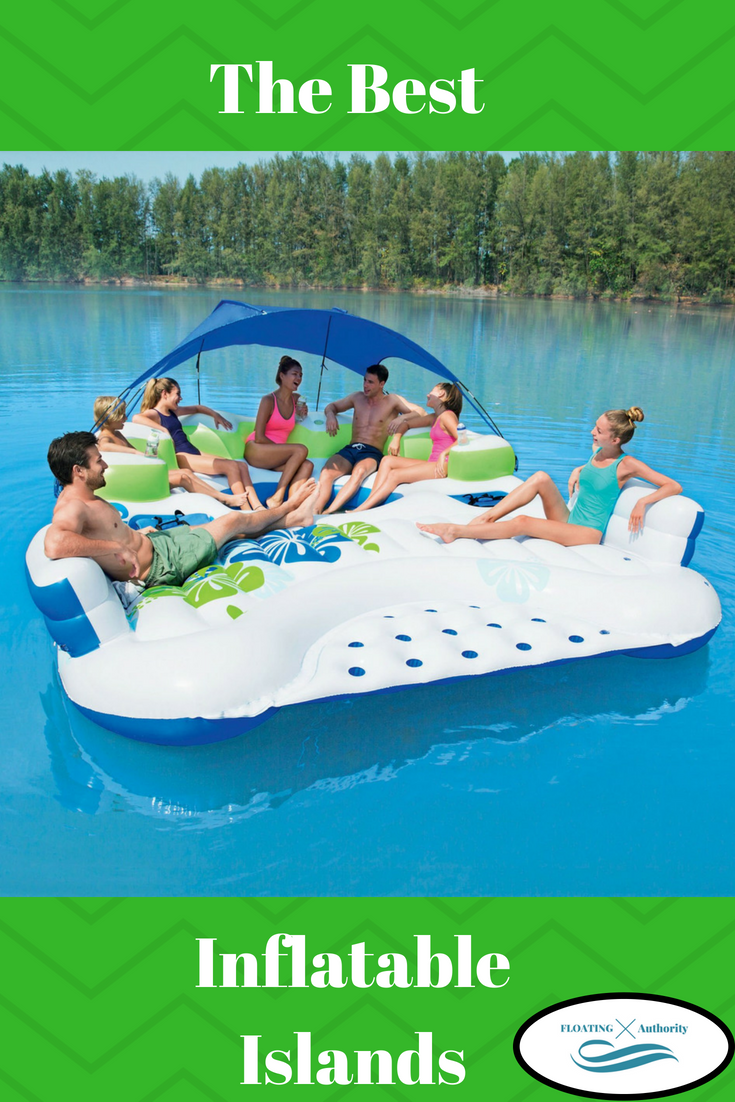 Best Inflatable Floating Islands Of 2020 For Partying And Relaxing Inflatable Floating Island Floating Island Floating