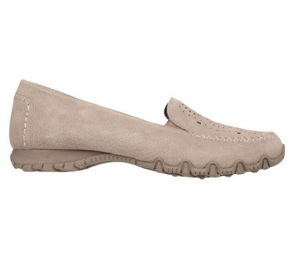 Skechers Women's Traffic Memory Foam Relaxed Fit Loafers (Taupe)