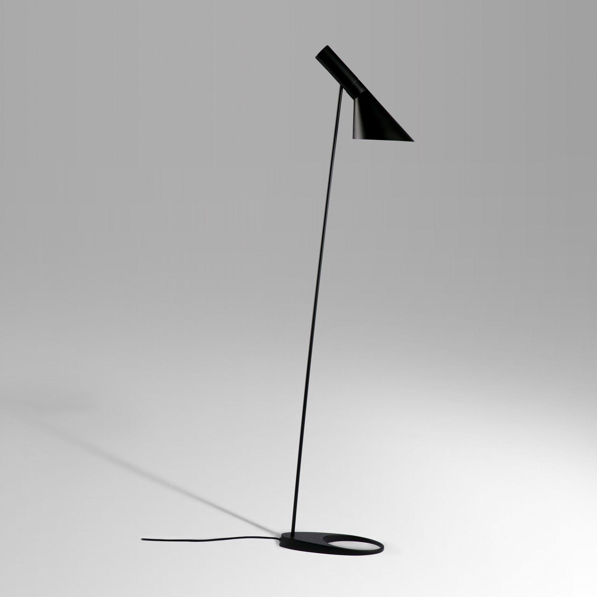 Arne Jacobsen Aj Floor Lamp Black Mid Century Modern Floor Lamp Http Www Franceandson Com Aj